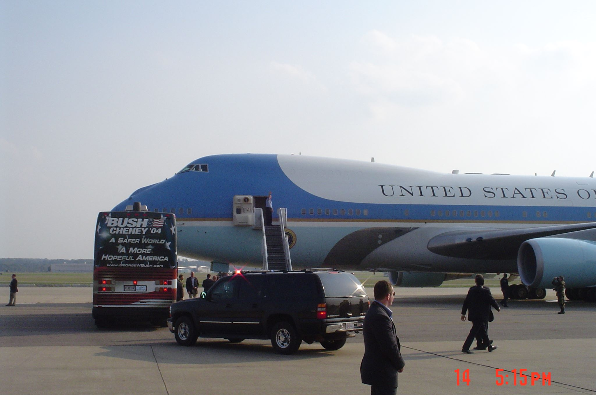 The United States Presidential Airplane