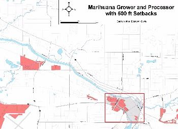 medical marihuana map example