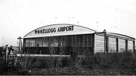 WK Kellogg Airport from the 1930s
