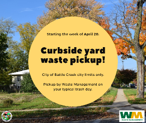 Yard Waste April 20 graphic