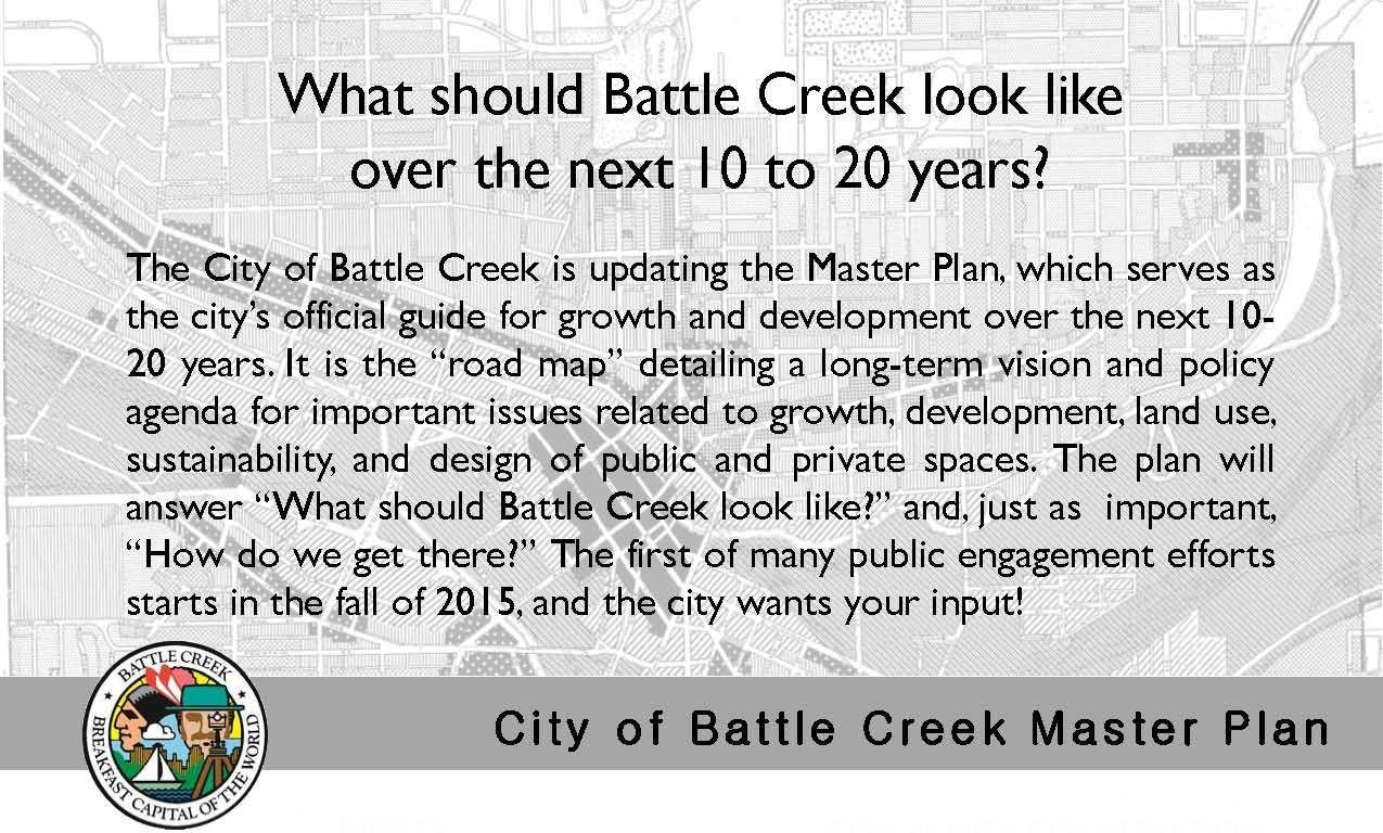 Click here to go to our Master Plan project website