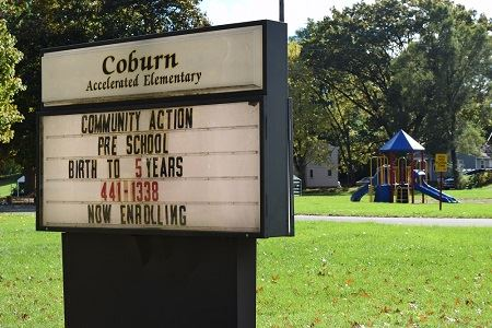 Community Action preschool at former Coburn Elementary