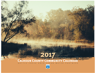 2017 Clean Water Partners calendar cover