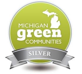 Michigan Green Communities silver medal