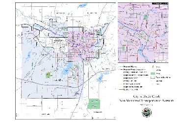 Battle Creek non-motorized transportation network - 2006