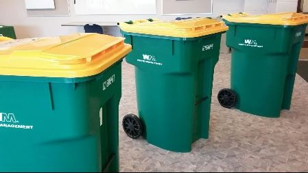 Battle Creek recycling carts